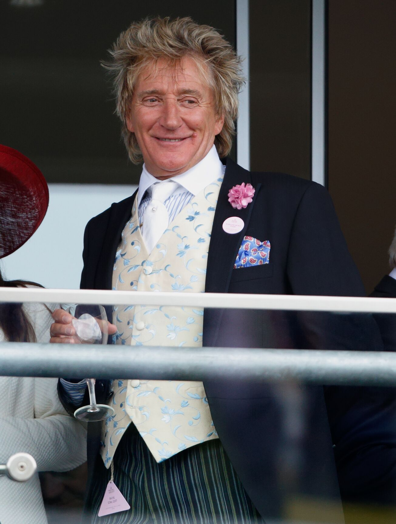 Sir Rod Stewart at the Royal Ascot at Ascot Racecourse in 2016 in England   Source: Getty Images