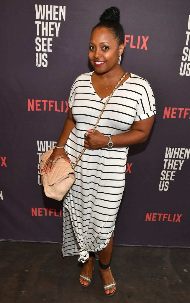 "Actress Keshia Knight Pulliam attends ""When They See Us"" Atlanta screening at The Gathering Spot 