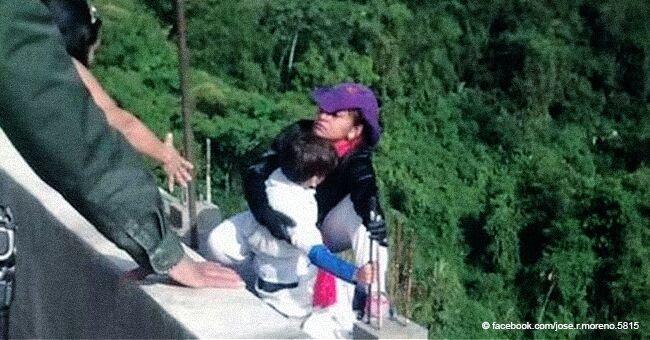 La lettre présumée de la mère, qui a sauté d'un pont avec son fils de 10 ans, est dévoilée