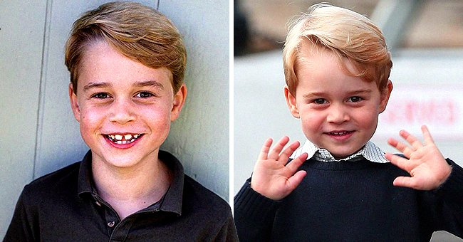 Prince George Shows off Gap-Toothed Grin in New Birthday Pic — Fans Gush about How Grown He Is
