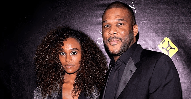 Tyler Perry's Longtime Girlfriend Gelila Bekele Is Simply Beautiful in Ruffled Dress, Coat & Boots in Photo