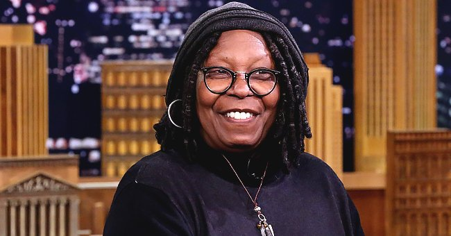 Whoopi Goldberg's Granddaughter Amarah Shows Her Contagious Smile Riding in a Car with Family