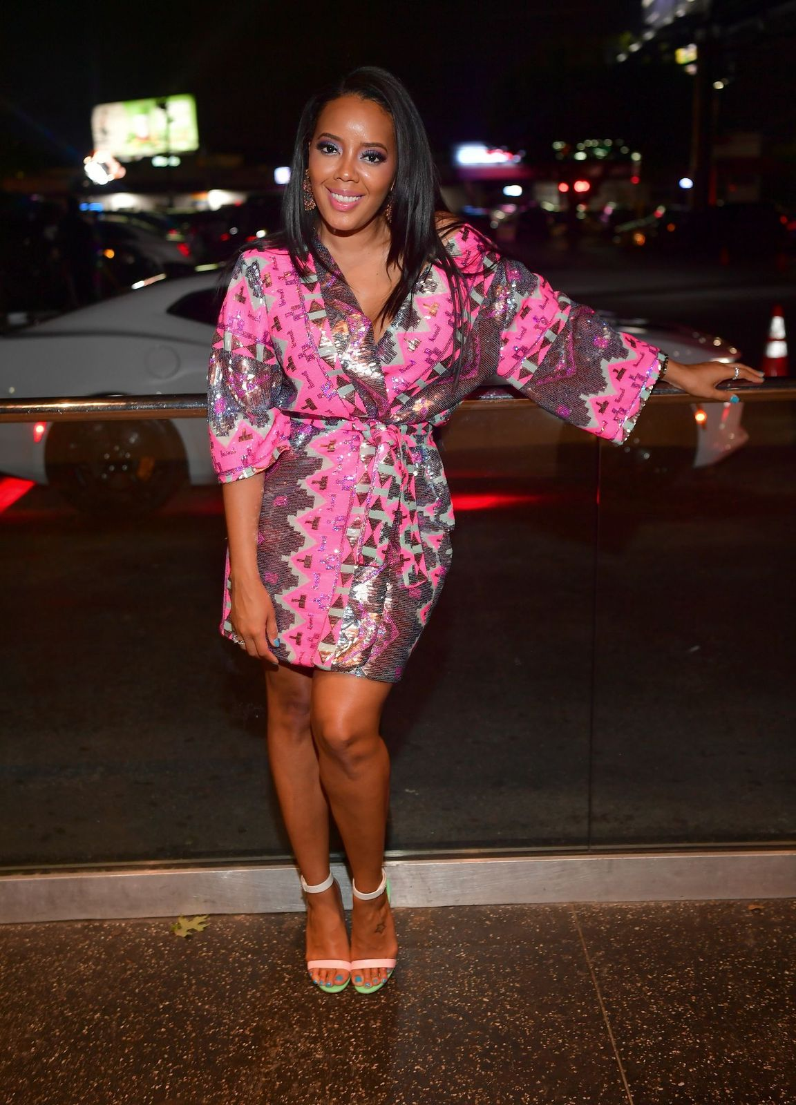 """Angela Simmons at """"Ladies Love R&B"""" at Gold Room on May 16, 2019 in Atlanta, Georgia 