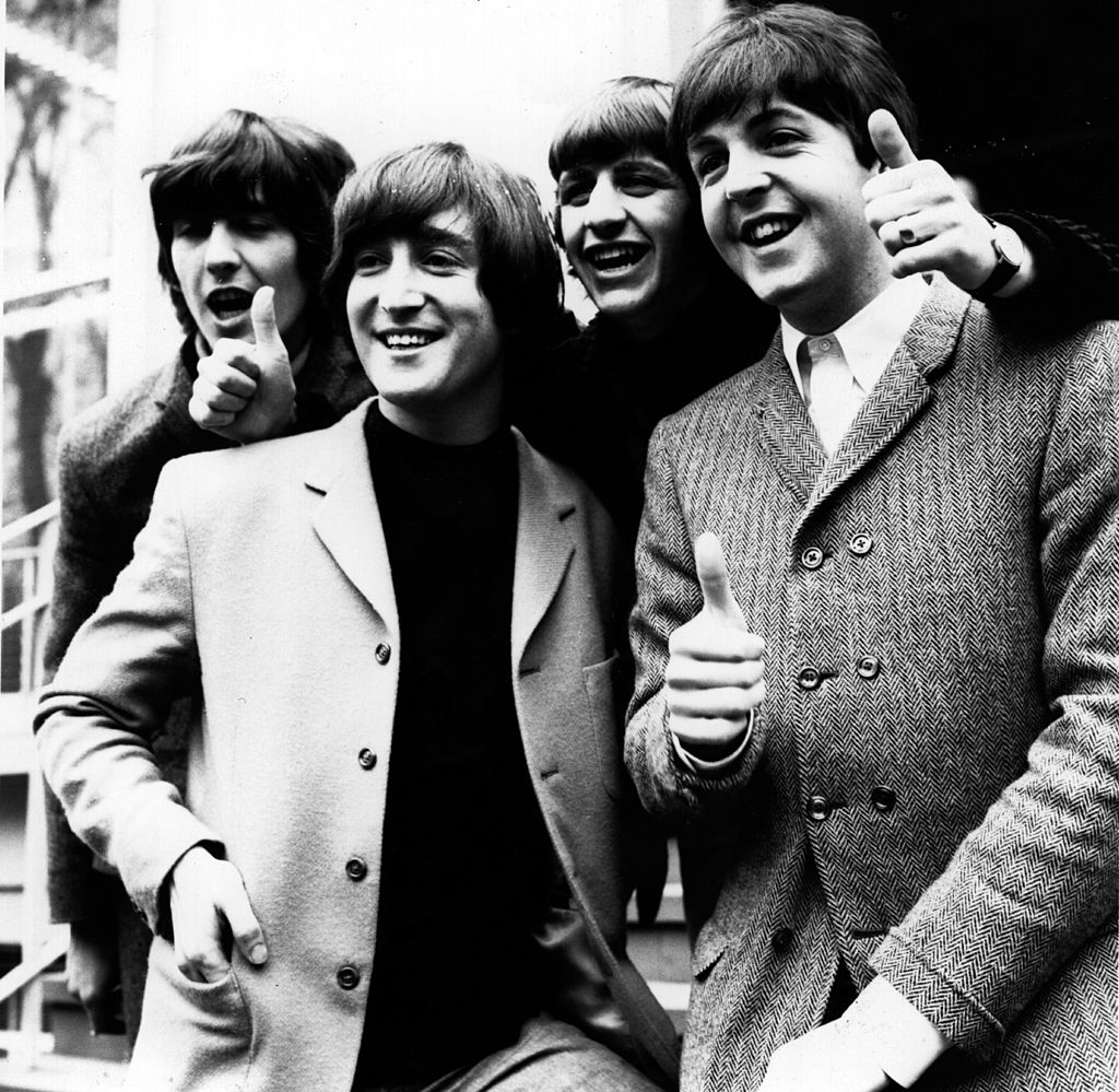 The Beatles at the London Palladium. From left to right, George Harrison (1943 - 2001), John Lennon (1940 - 1980), Ringo Starr and Paul McCartney. | Getty Images / Global Images Ukraine