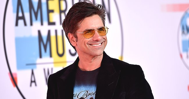 See How Big John Stamos's 2-Year-Old Son Billy Is Getting in This Adorable Video