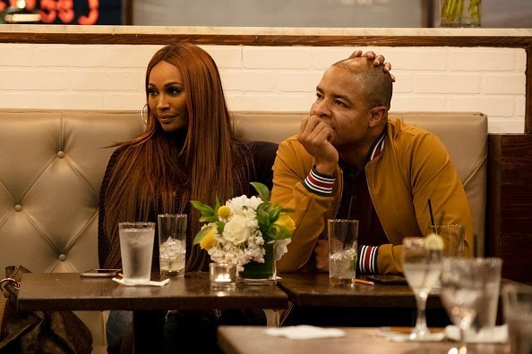 RHOA star, Cynthia Bailey, and fiance, Mike Hill | Photo: Getty Images