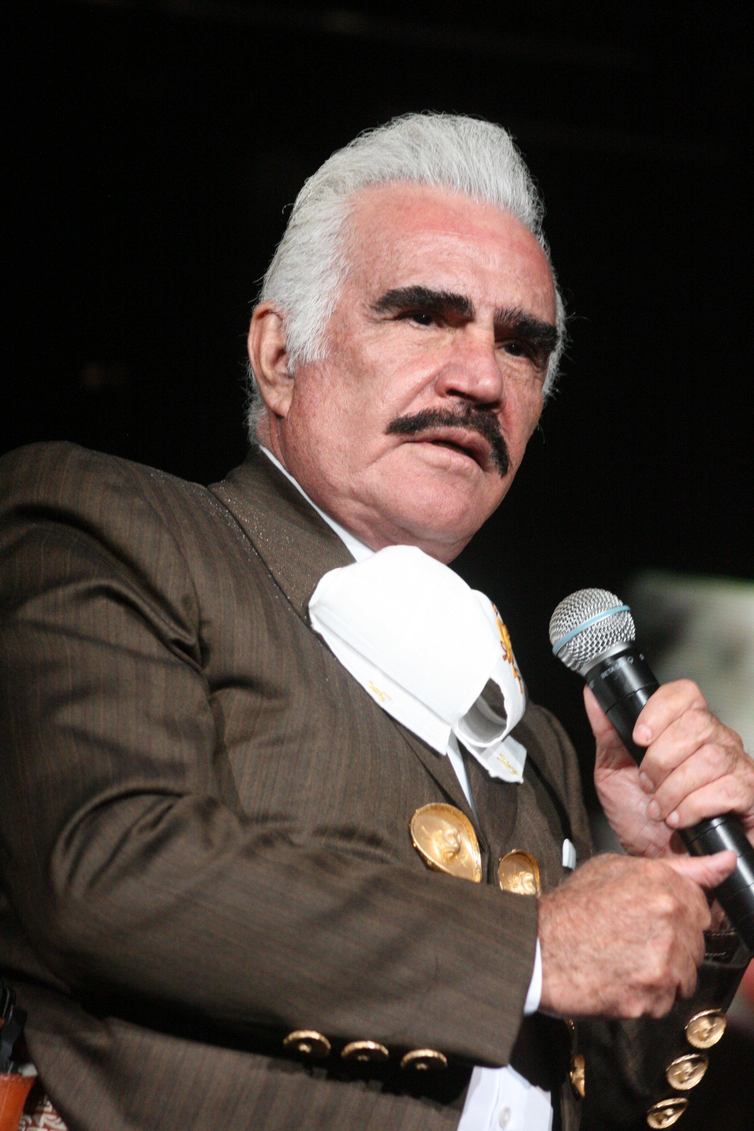 Cantante Vicente Fernández.   Foto: Wikipedia