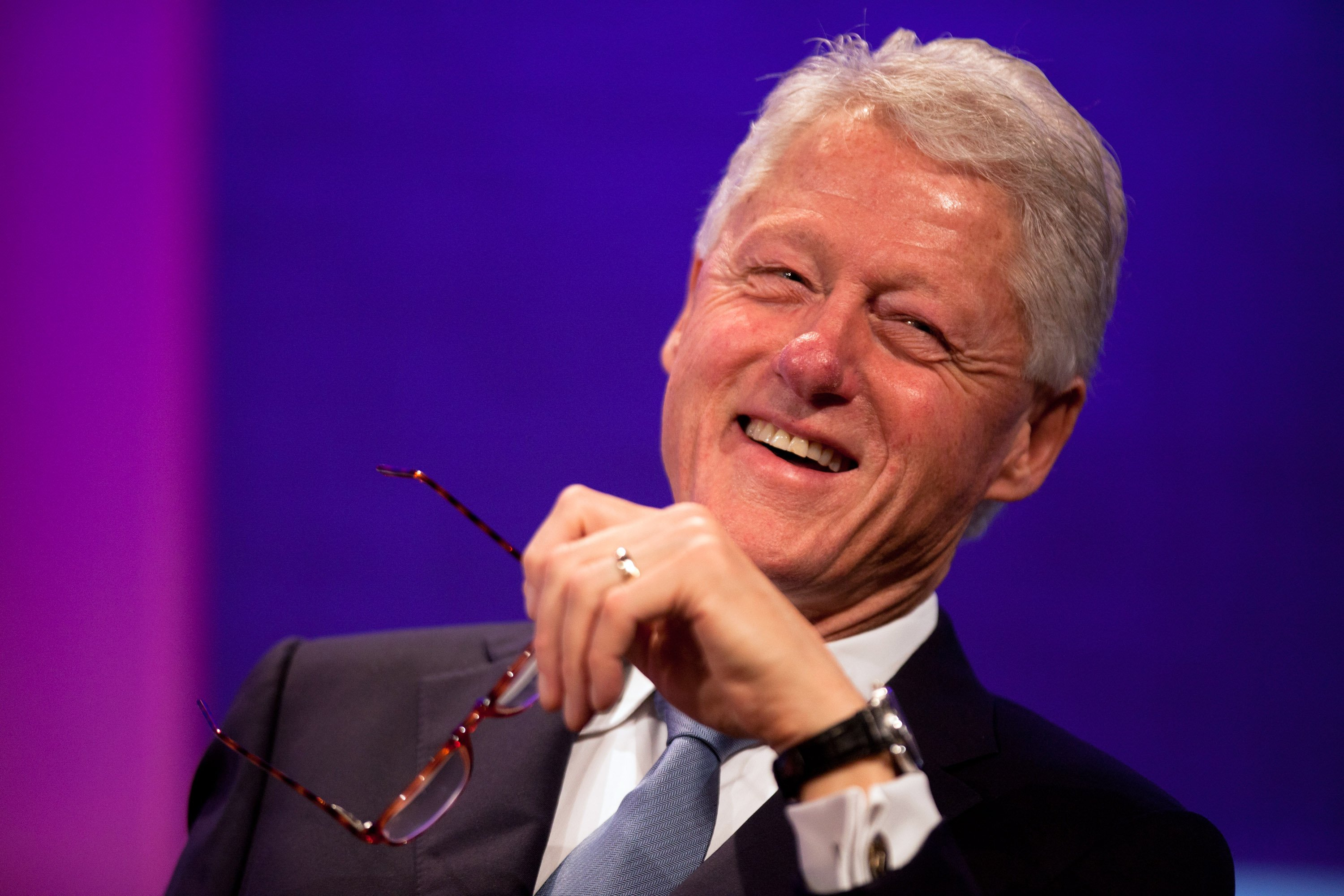 Bill Clinton at the Leaders Dialogue on Climate Change at the Sheraton New York Hotel on September 20, 2011 in New York City | Photo: Getty Images