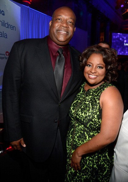 Lamar Sally and Sherri Shepard at the Samsung's Annual Hope for Children Gala  in New York City.| Photo: Getty Images.