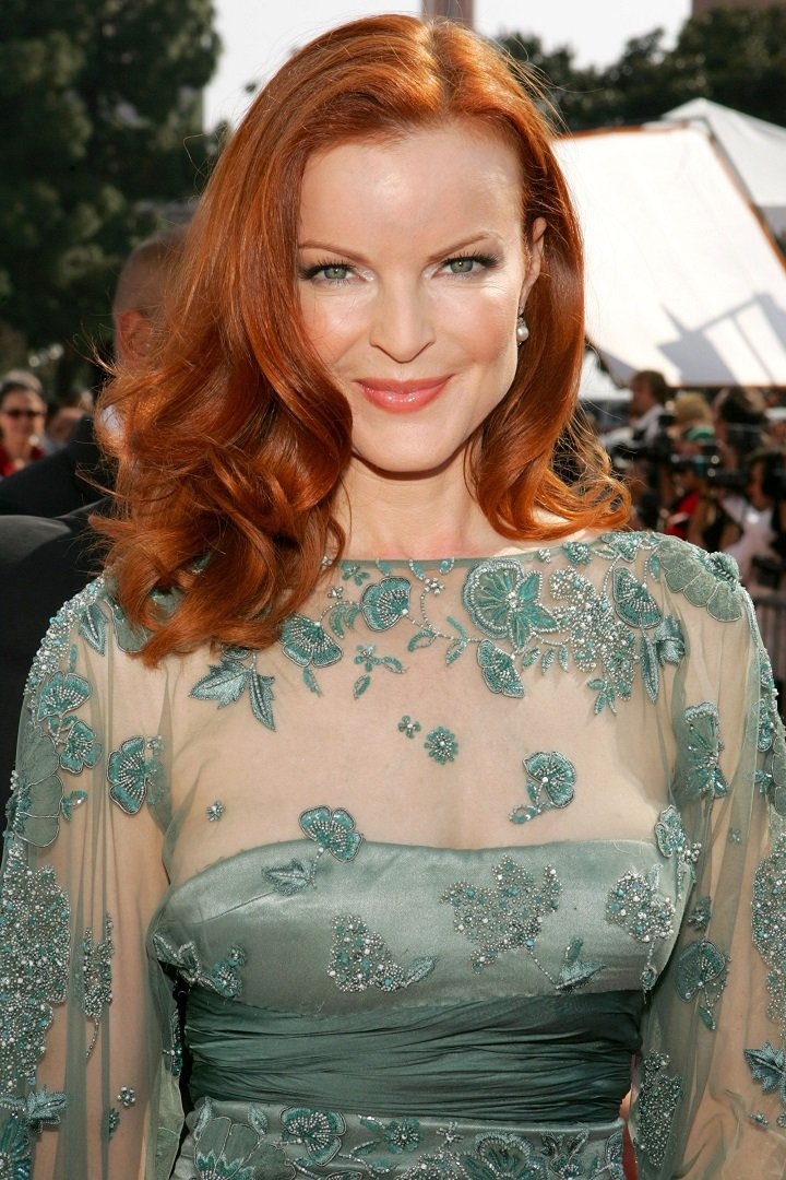 Marcia Cross during 2006 NCLR ALMA Awards - Red Carpet at Shrine Auditorium in Los Angeles, California,..   Image: Getty Images.