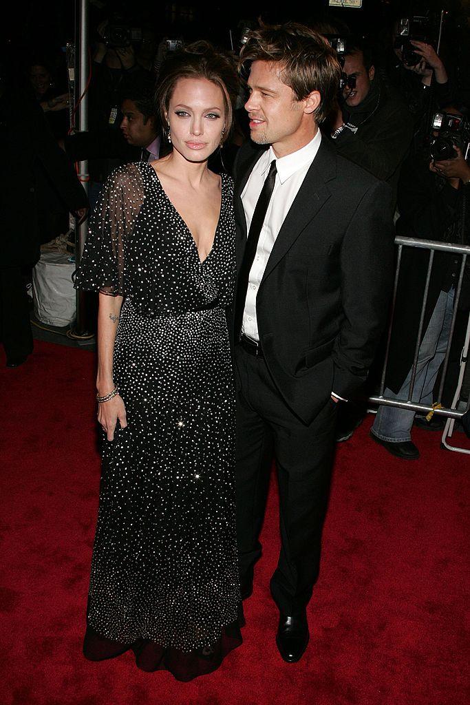 Brad Pitt et Angelina Jolie en 2006. l Source : Getty Images