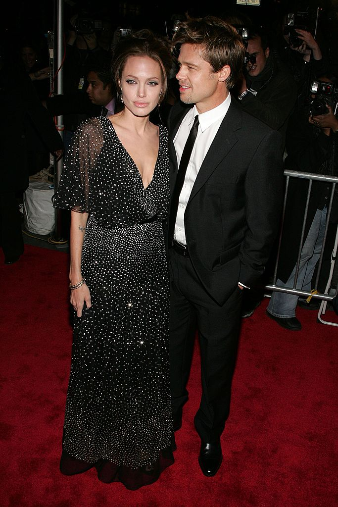 Brad Pitt et Angelina Jolie en 2006. l Source : Getty Images
