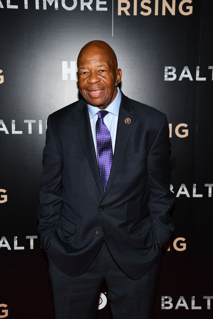 Congressman Elijah Cummings arrives at the Red Carpet Premiere of HBO Documentary Baltimore Rising. | Photo: Getty Images