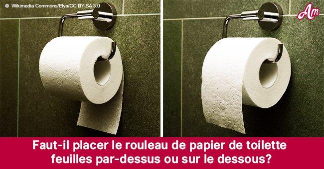De quel côté le rouleau de papier toilette doit être placé - la bonne réponse date de 128 ans