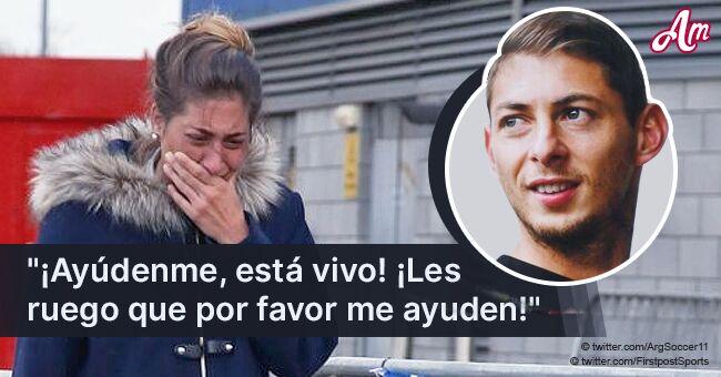 Hermana del futbolista perdido Emiliano Sala comparte súplica desgarradora por su regreso