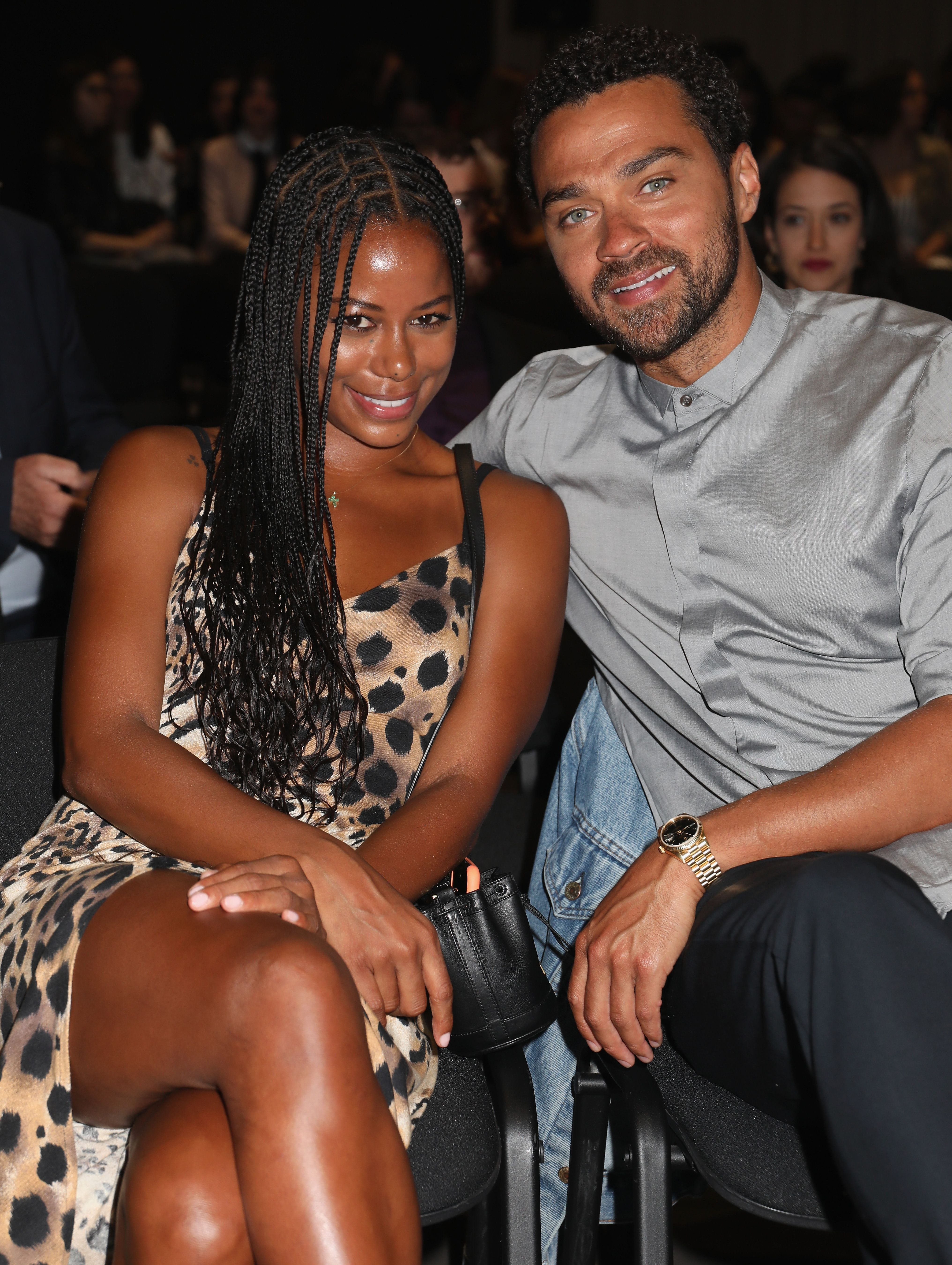 Taylour Paige and Jesse Williams attend the Filming Italy Sardegna Festival 2019 Day 2 at Forte Village Resort on June 14, 2019 in Cagliari, Italy