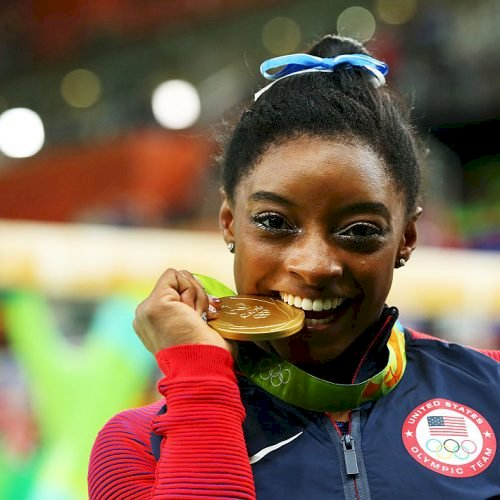 Simone Biles (Photo by Alex Livesey/Getty Images)