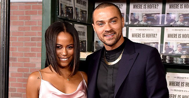 Jesse Williams' GF Taylour Paige Shows Cleavage in Throwback Snaps Dressed in Plunging Outfits