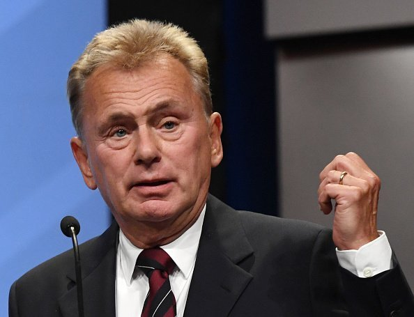 Pat Sajak speaks as he is inducted into the National Association of Broadcasters Broadcasting Hall of Fame during the NAB Achievement in Broadcasting Dinner at the Encore Las Vegas on April 9, 2018 in Las Vegas, Nevada | Photo: Getty Images