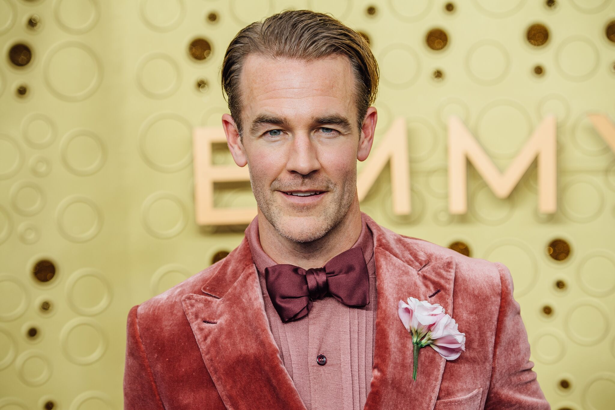 James Van der Beek arrives at the 71st Emmy Awards at Microsoft Theater on September 22, 2019 | Source: Getty Images