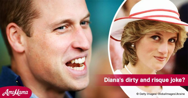 Princess Diana once embarrassed 13-year-old Prince William with a naughty cake for his birthday