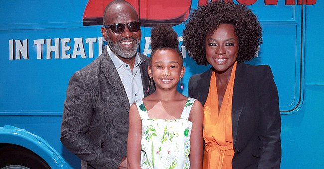 See Viola Davis' Beautiful Family as She Leaves Church with Husband & Daughter Genesis (Photo)