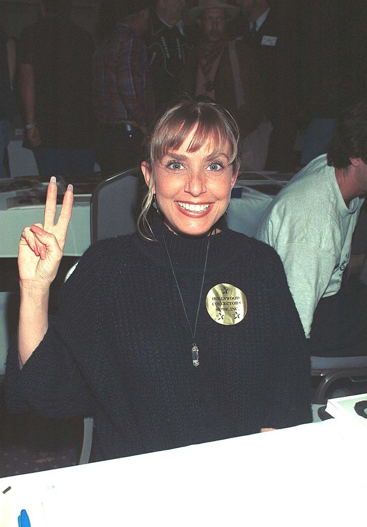 "Dana Plato (""Diff''rent Strokes"") at the Hollywood Collectors Show. 1998 Hollywood, CA. 