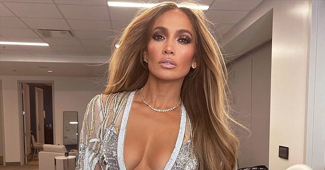 Jennifer Lopez Leaves Little to Imagination in a Sheer Sequin Jumpsuit in a Series of New Photos