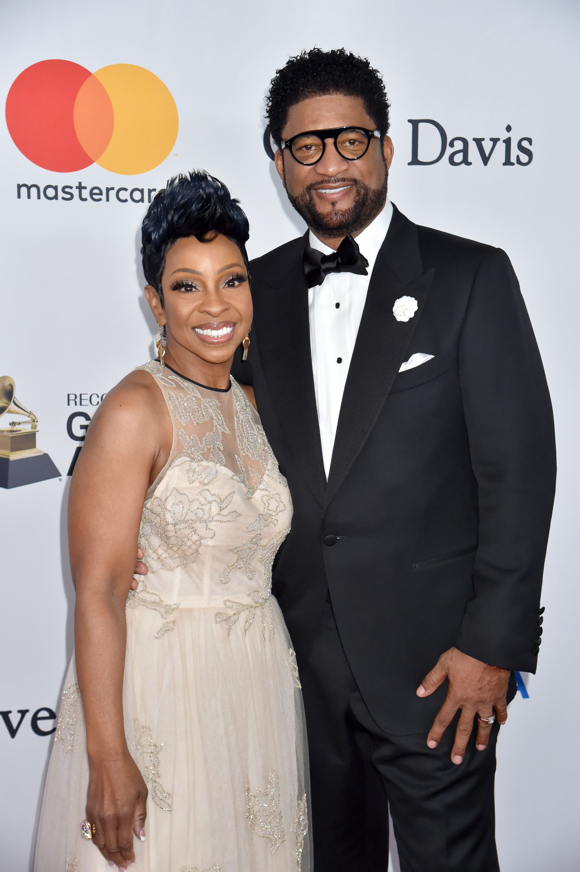 Gladys Knight and William McDowell at the Clive Davis and Recording Academy Pre-GRAMMY Gala and GRAMMY Salute on January 27, 2018 in New York City. | Source: Getty Images
