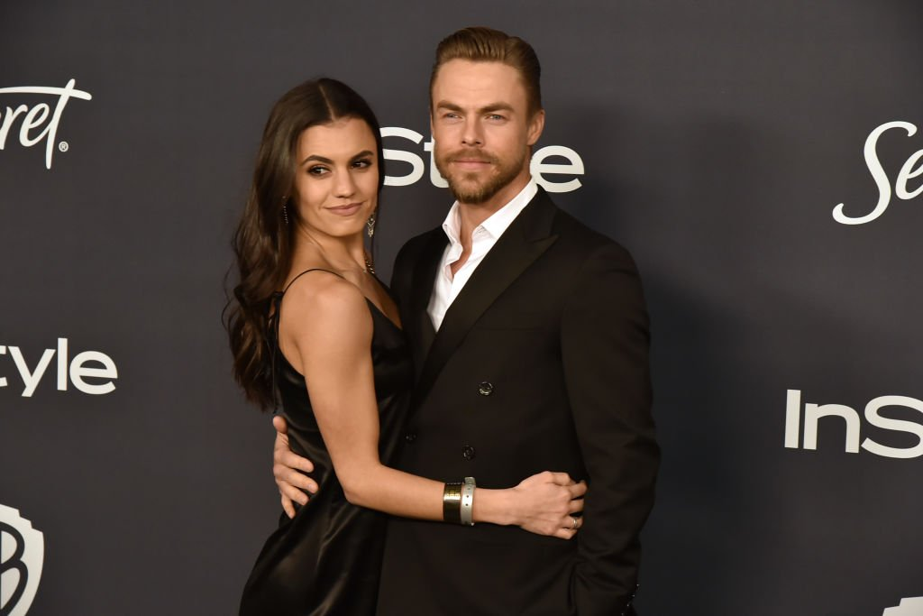 Hayley Erbert and Derek Hough attend the 21st Annual Post Golden Globes After Party at Beverly Hills Hotel on January 05, 2020 in Beverly Hills, California. | Photo: Getty Images