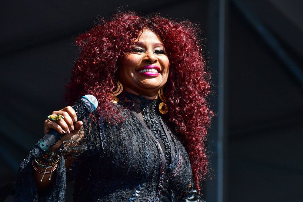 Chaka Khan performs during the 2019 New Orleans Jazz & Heritage Festival 50th Anniversary at Fair Grounds Race Course on May 05, 2019 in New Orleans, Louisiana. I Image: Getty Images.