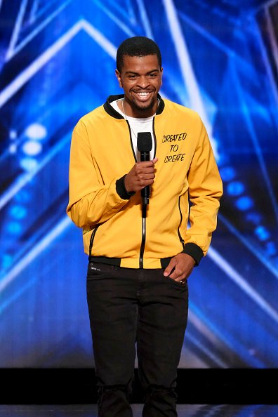 "Brandon Leake during the ""America's Got Talent"" Season 15. 