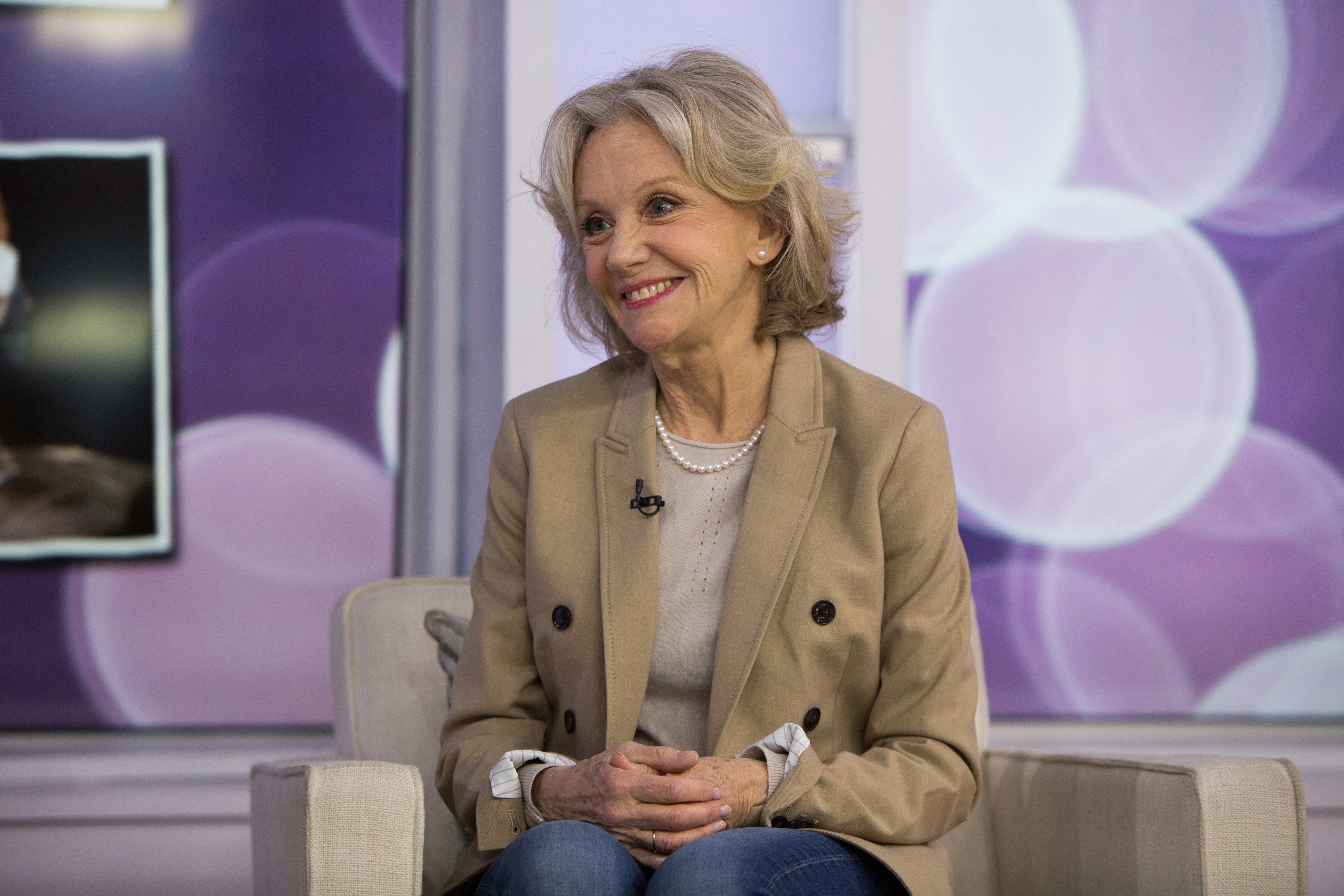 """Hayley Mills at """"Today"""" Season 67 on March 14, 2018. 