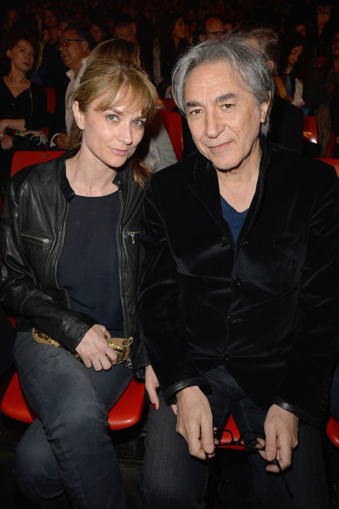 Richard Berry et sa femme Pascale Louange | Photo : Getty Images