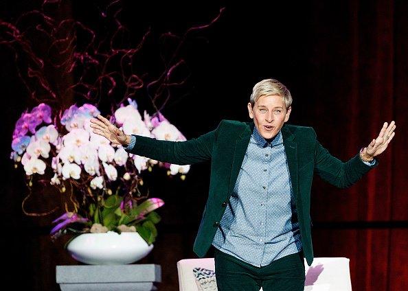 Ellen DeGeneres en el Rogers Arena el 19 de octubre de 2018 en Vancouver, Canadá   Foto: Getty Images