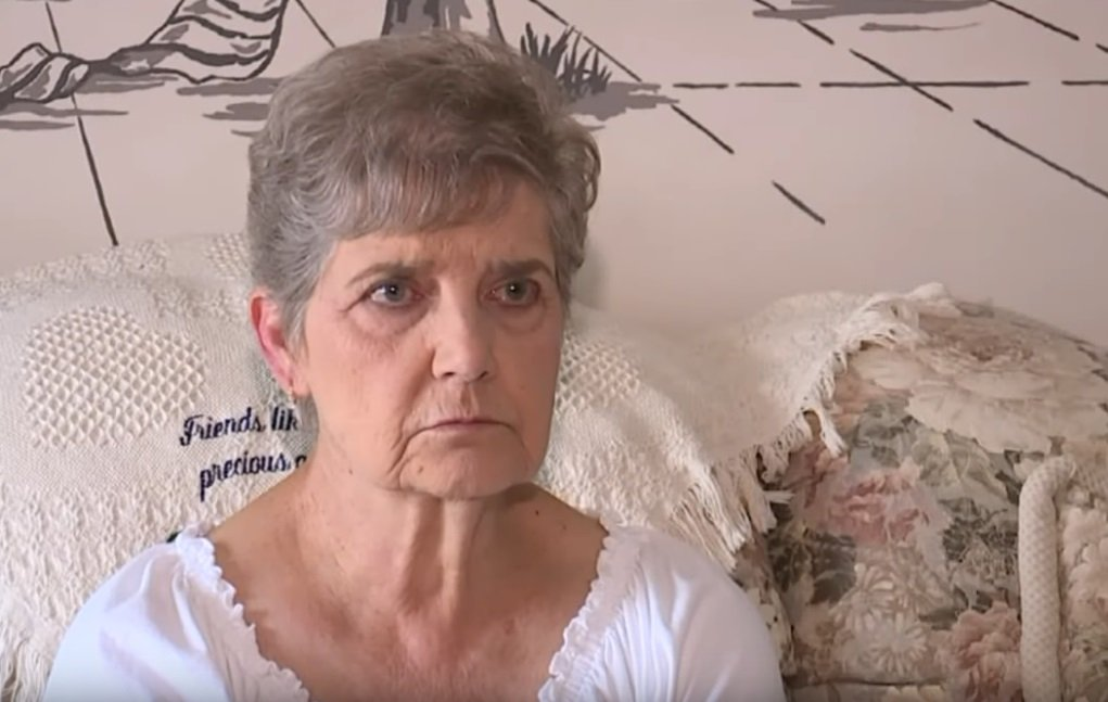 Nancy Segula de Garfield Heights en Ohio. Mujer de 79 años que fue a prisión por alimentar felinos callejeros. | Imagen: YouTube/FOX 8 News Cleveland