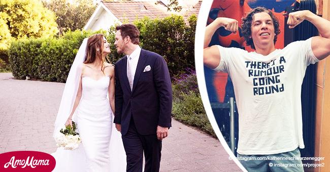 Arnold Schwarzenegger's Son Joseph Baena Congratulates Half-Sister Katherine on Her Wedding