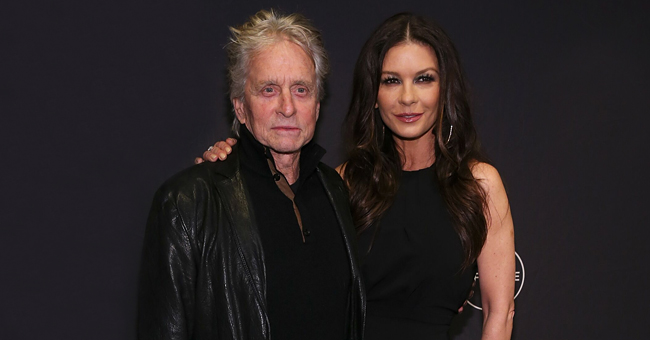 Catherine Zeta-Jones Shares a Photo Taken with Husband Michael Douglas
