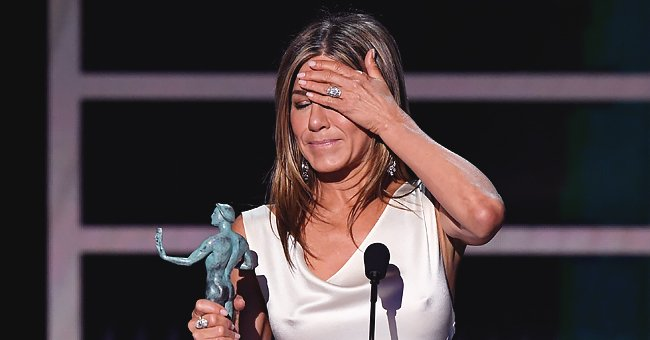 Jennifer Aniston Gets Emotional after 1st SAG Award Win for 'The Morning Show' since 'Friends'