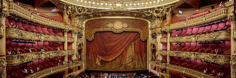 Sala de teatro│Imagen tomada de: Pixabay