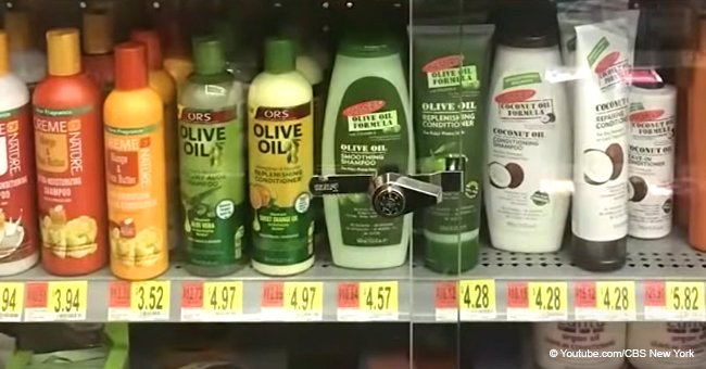 Walmart store in New York sparks outrage after locking Black hair care products in a case
