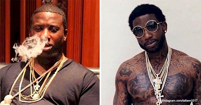 Gucci Mane shares old photo of himself, showing off his massive physical transformation