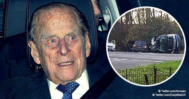 Meghan Markle's royal grandfather-in-law Prince Philip, 97, involved in car crash