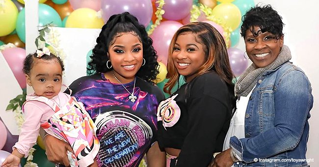 Toya Wright's mom grabs attention, rocking denim jacket and pants in new family pic
