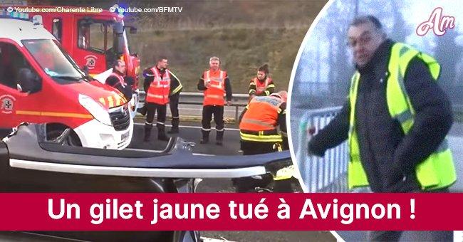 Un gilet jaune tué après avoir été percuté par un camion à Avignon