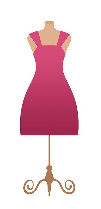 Pinkes Kleid - Quelle: Shutterstock