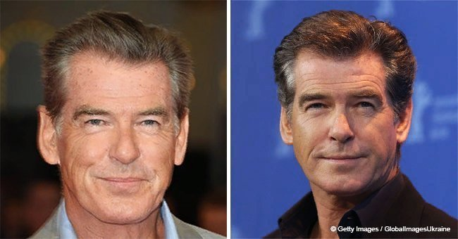 Pierce Brosnan's son, Paris, is 17 now and the exact copy of father in his youth
