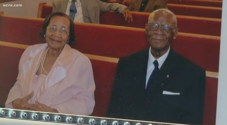 The happy couple says they owe their longevity to God. | Source: YouTube/WCNC