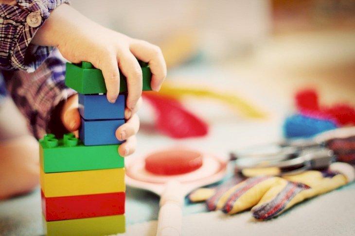 Niño jugando con juguetes. Fuente: Pixabay