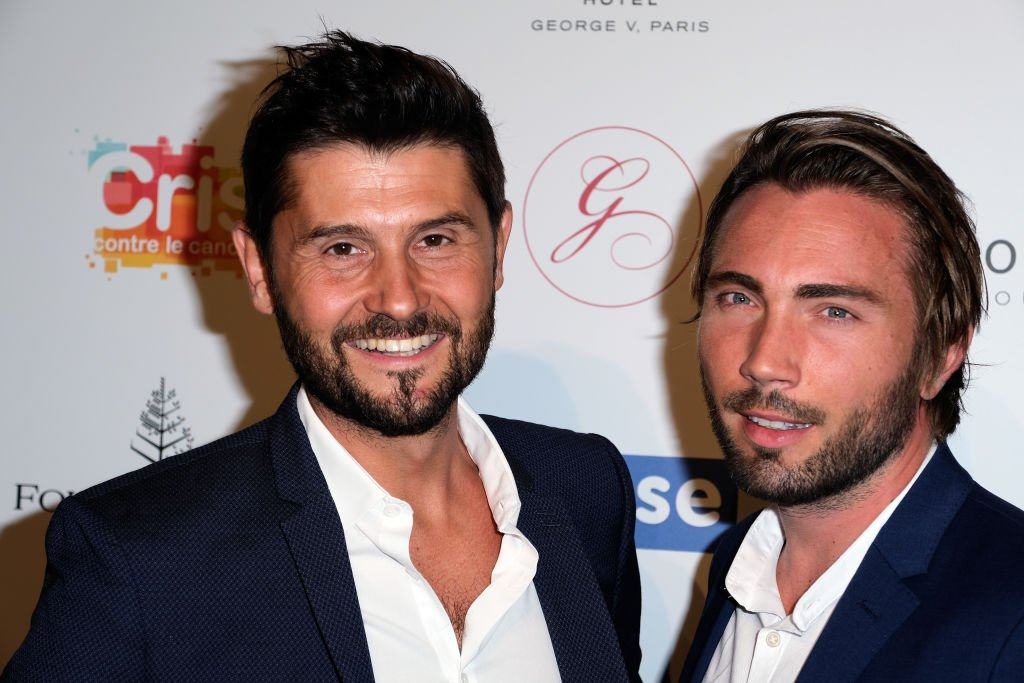 Christophe Beaugrand et son mari Ghislain Gérin | photo : Getty Images